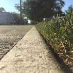 Lawn Edging Close Up