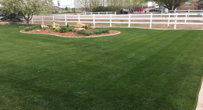 nicely-mowed-lawn-cedar-city-utah